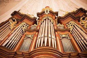 Blick Orgel v.d.Empore
