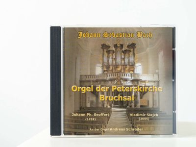 CD-Bach - Orgel der Peterskirche