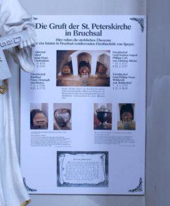 Gruft der Peterskirche